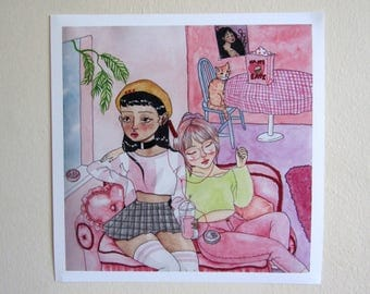 Digital Print - 'Friendship'