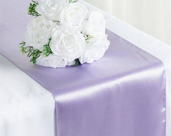 SALE FIVE Lilac Table Runner Lavender Unicorn Wedding Spring Boho Pastel Purple Cloth Sparkly Wholesale Light Easter Sale Cheap Decor