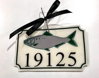 Fishtown Sign Jawnament Ornament