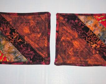 Cotton Quilted Batik Trivets