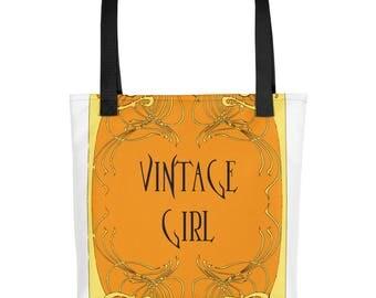 Art nouveau vintage Tote bag
