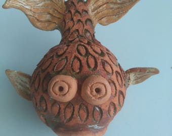 Ceramic Fish Figurine-handmade