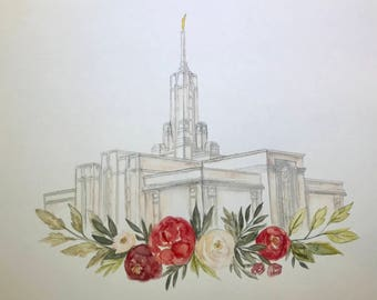 Mt. Timpanogos Temple