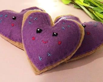 kawaii catnip heart toys