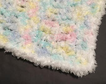 Crochet Baby Blanket - soft