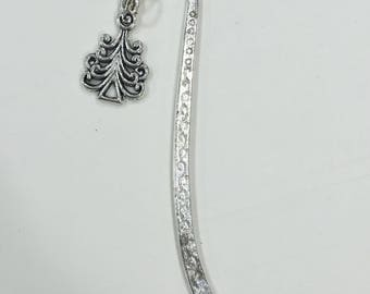 Silver Plated Bookmark - Tree