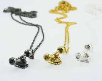 Skate Axle chain and Pendant