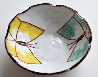 handmade ceramic bowl - pottery bowl - home decor - housewarming gift