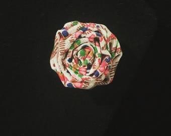 Flower Lapel Pin (Thistle)