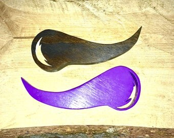 Viking Horn Cut-Outs