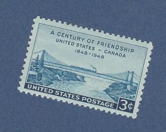 U.S. Canada Friendship Stamp 3c Scott #961