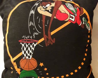 Looney Tunes Basketball Throw Pillow