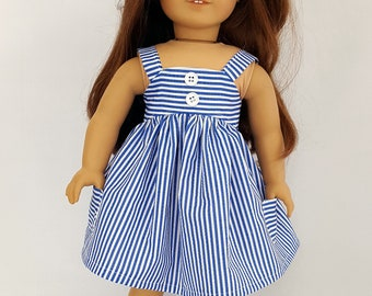 "Sundress fits 18"" dolls such as American Girl"