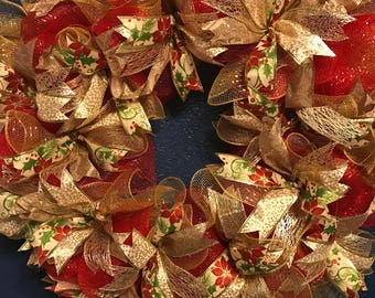 18 inch form Christmas wreath