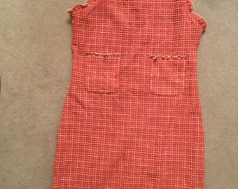 Beautiful Vintage Chanel dress one shoulder excellent condition.