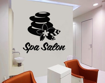 Wall Decal Window Sticker Beauty Salon Spa decal massage decal spa salon decals t83
