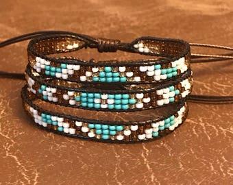 Triple bracelet