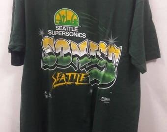 Vintage Seattle Supersonics T-Shirt