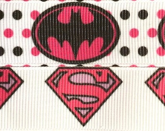 Pink Super Heroes Dog Collar - Charity Fundraiser