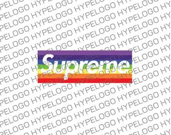 Supreme Box LGBT Hypebeast Inspired Logo