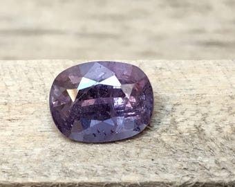 3.80 Carate Beautiful Faceted Purple Color Spinel From Afghanistan.