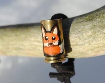 Cute Fox on 9mm Casing Bracelet