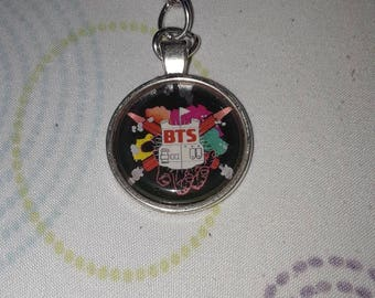BTS Bulletproof Keychain
