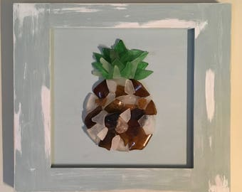 sea glass pineapple