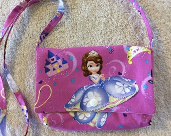 Princess Sophia Children's Over the Shoulder Purse