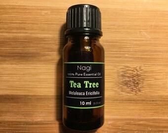Tea Tree Oil 100% Pure Natural Organic Tea Tree Essential Oil ( Melaleuca Ericifolia )