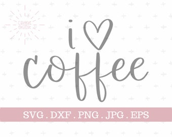 Download I love coffee   Etsy