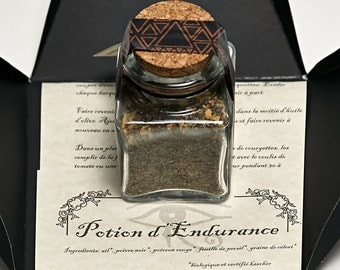 Egyptika Potion of Endurance, Organic spice Single Pyramid / Mélange Potion D'endurance