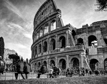 Colosseum Canvas Photo