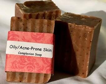 oily skin soap / acne soap / natural soap / essential oil soap / handmade soap / moisturizing soap / Halifax / artisan soap / Hubbards soap