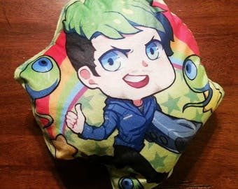 Jacksepticeye Youtuber Pillow