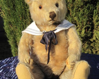 Edmund - 1950s Steiff with button German