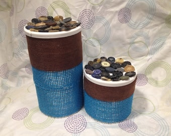 Buttons Canister set