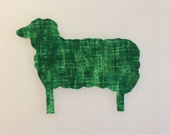 Sheep Sew-on Patch