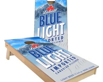 Labatt Blue Light Beer Cornhole Boards