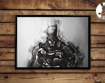 Batman poster wall art home decor print
