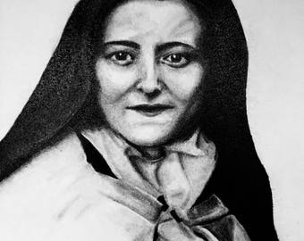 St Therese of Lisieux Print
