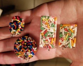 Resin Candy Pendants