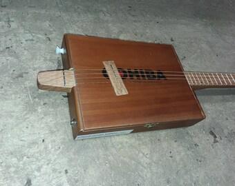 4 string premium electric cigar box guitar tinyguitars