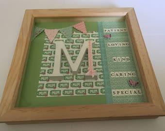 Mother's Day Treasured Memories Box Frame