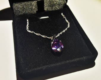 Amazing natural amethyst necklace