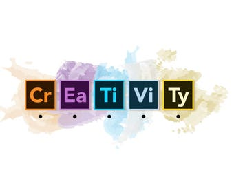 Creativity Water Color Poster