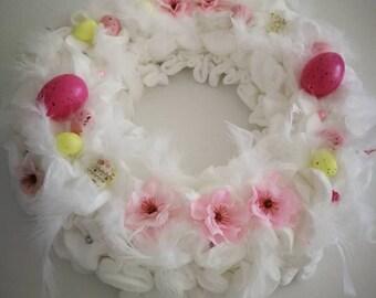 Easter Wreath/Spring wreath/Table wreath