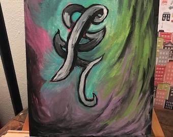 Shadowhunters Healing Rune Painting