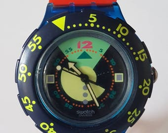 Swatch (named) Divine 200M Watch SDN102 - Swiss Made 1992