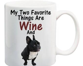 Personalised French Bulldog Mug